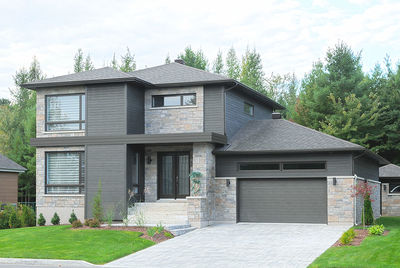 Stately Modern with Garage - 22322DR thumb - 05