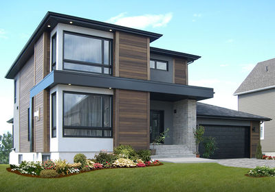 Stately Modern with Garage - 22322DR thumb - 06