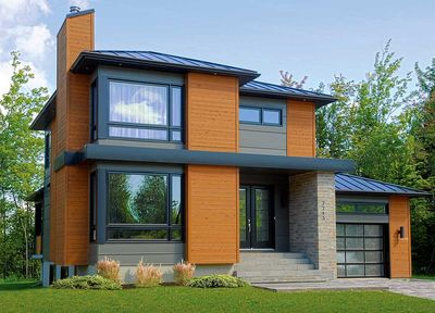 Stately Modern with Garage - 22322DR thumb - 02