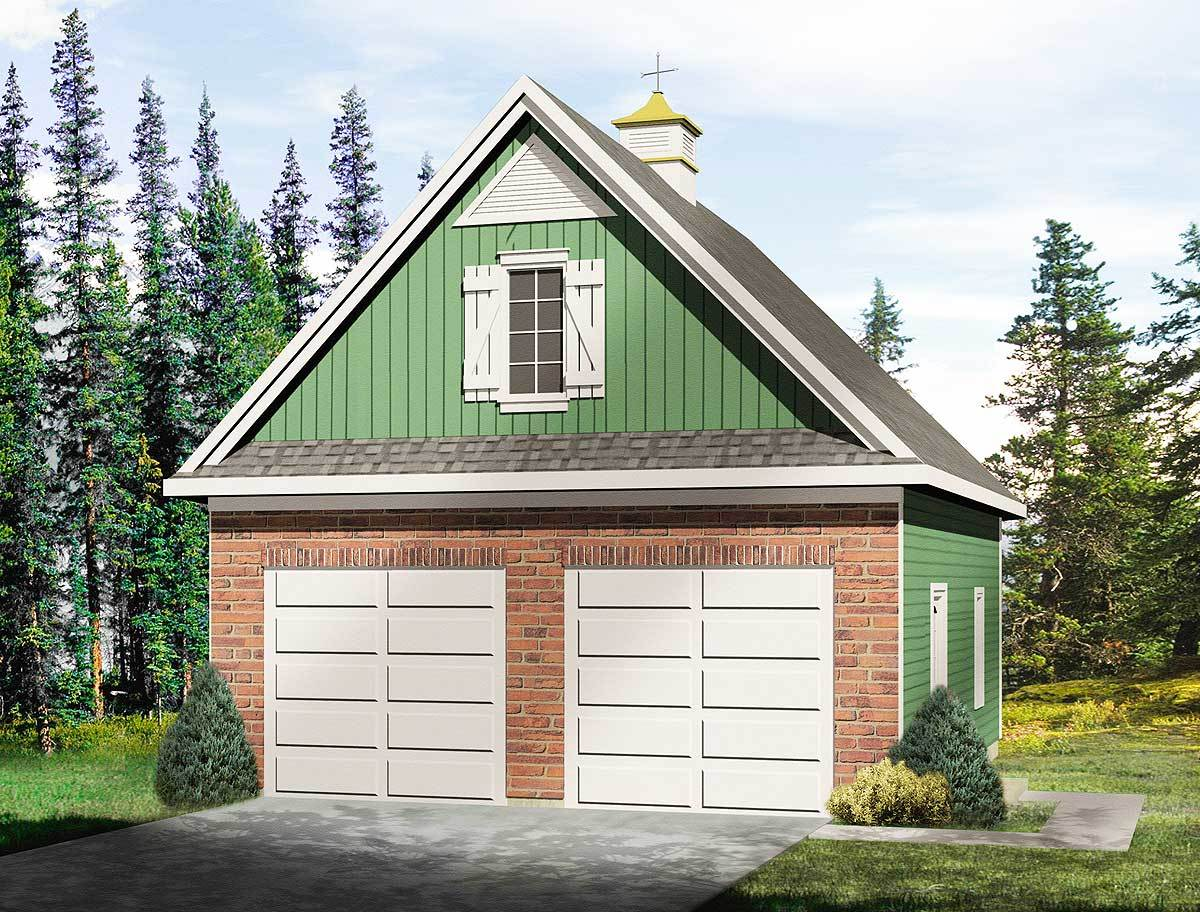 Garage with loft 2235sl architectural designs house for House plans with loft over garage