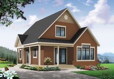 Cottage House Plan With Expansion - 22356DR | Architectural ...