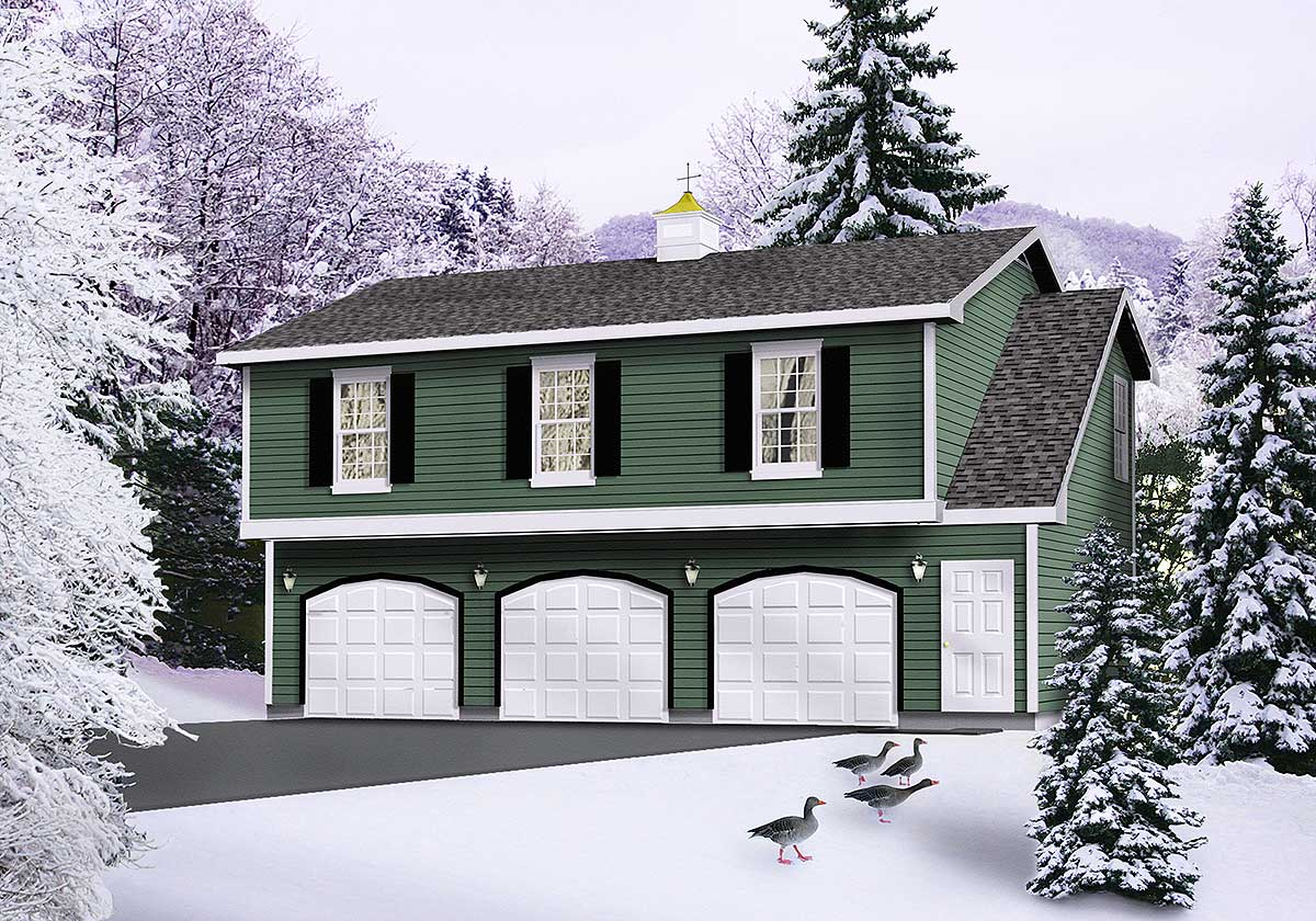 Affordable garage apartment 2236sl architectural for Affordable garage plans