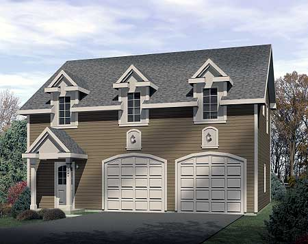 Two bedroom carriage house 2240sl carriage narrow lot for 2 bedroom carriage house plans
