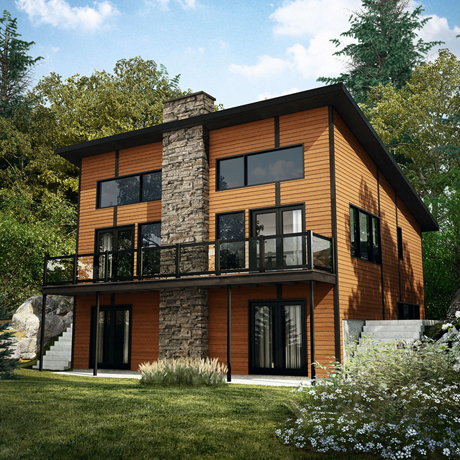 Dynamic contemporary house plan 22445dr architectural designs house plans