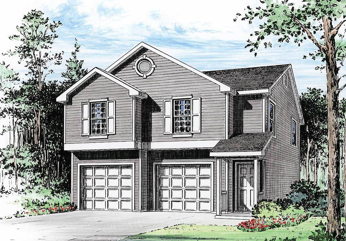 Car Garage Apartment Architectural Designs House Plans