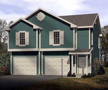 2-Car Garage Apartment - 2251SL | Architectural Designs - House Plans