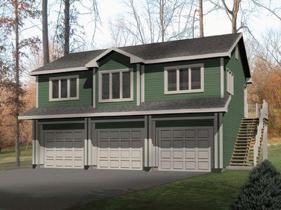 Unique Carriage House Plan - 2252SL   Architectural Designs ...