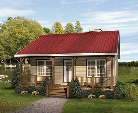 Coziest country cabin 2261sl country ranch narrow for Cozy cabin plans