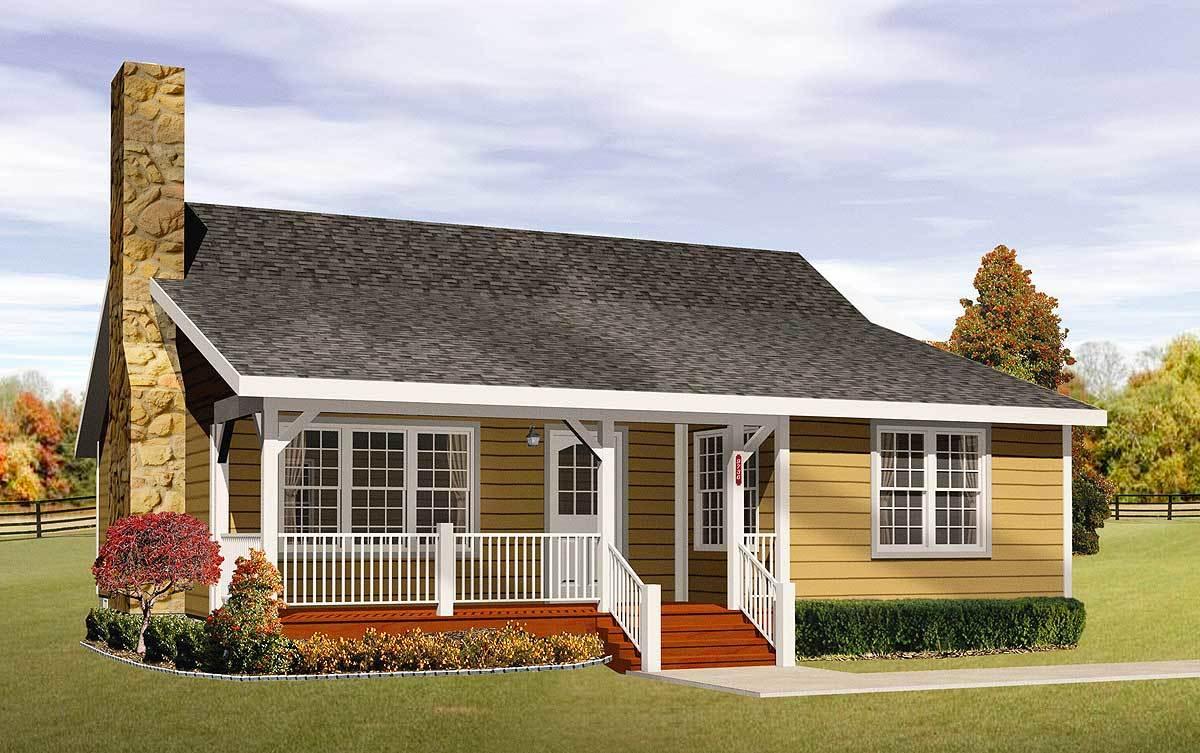Cozy cottage home plan 2256sl architectural designs for Cozy home plans