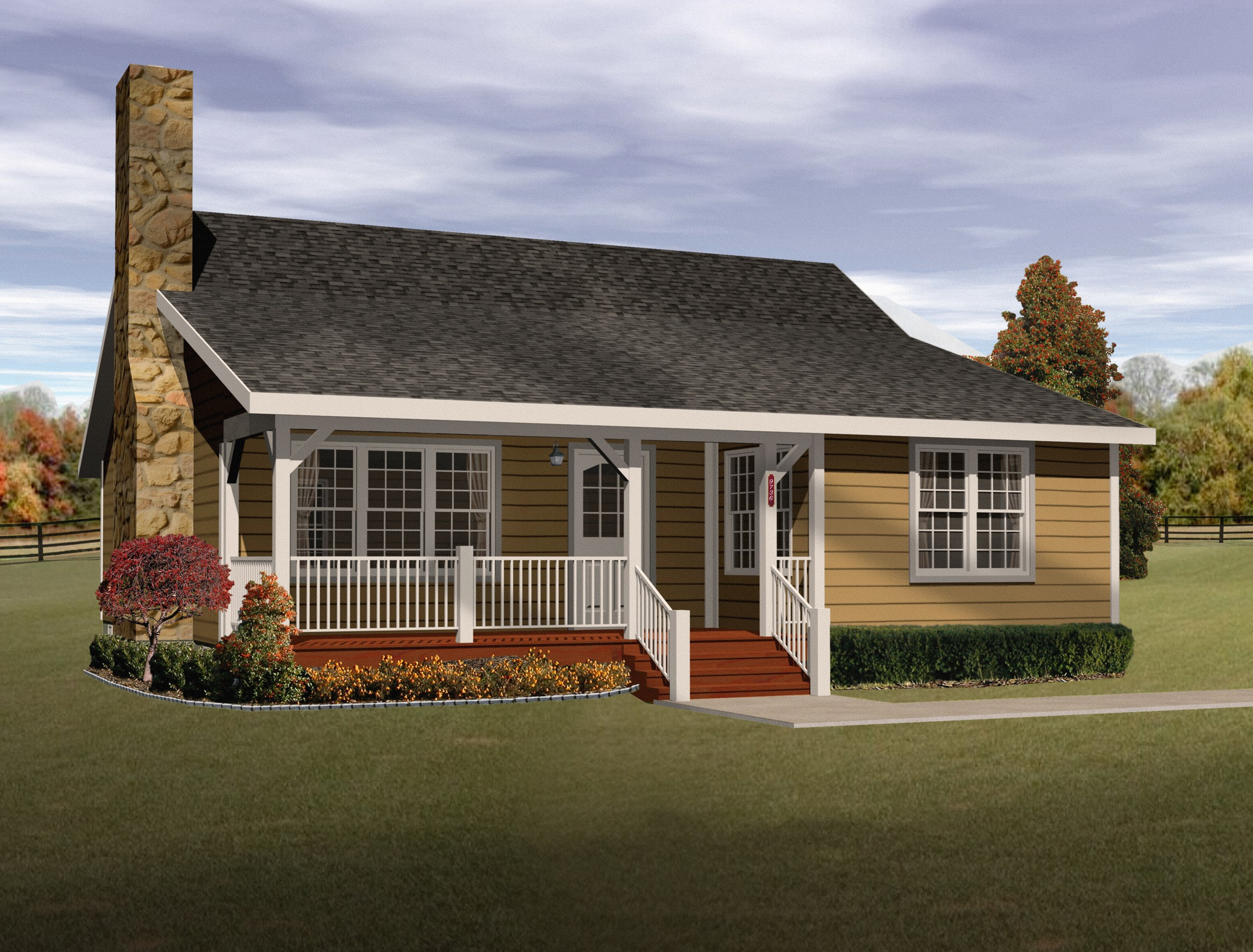 cozy cottage home plan 2256sl 1st floor master suite