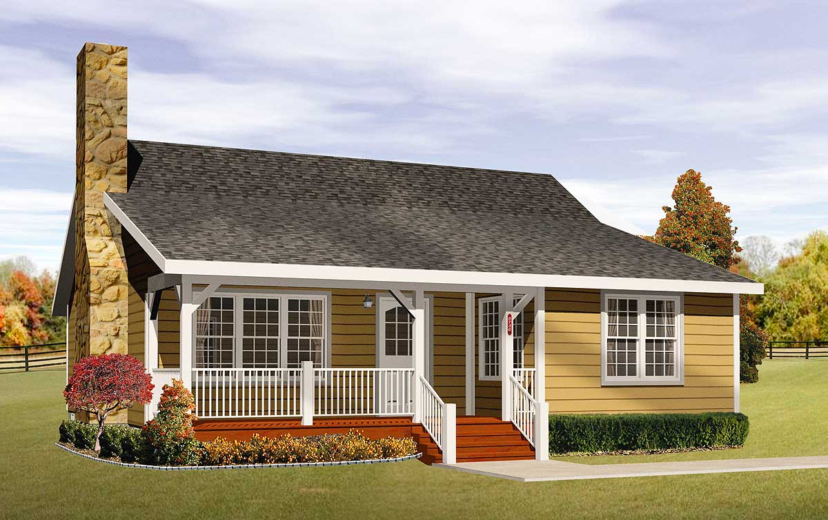 Cozy cottage home plan 2256sl architectural designs for Cozy cottage plans