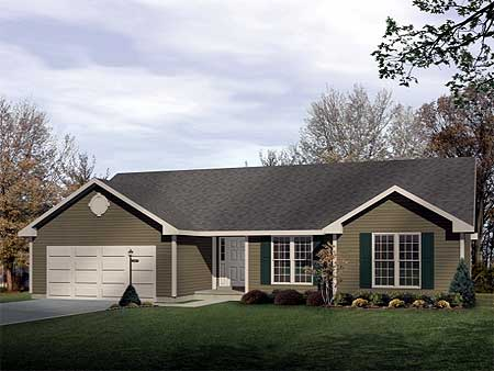 Economical ranch 2271sl 1st floor master suite cad for Economical ranch house plans