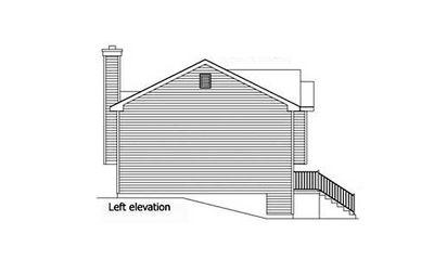 Cozy Split-Level House Plan - 2298SL thumb - 05