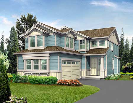 Duplex house plans corner lot house design plans for Corner duplex designs
