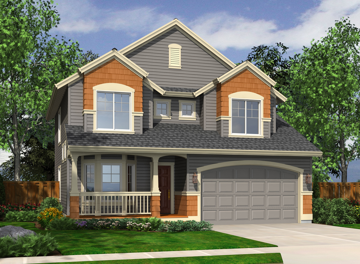 Handsome Northwest House Plan 23009jd Architectural