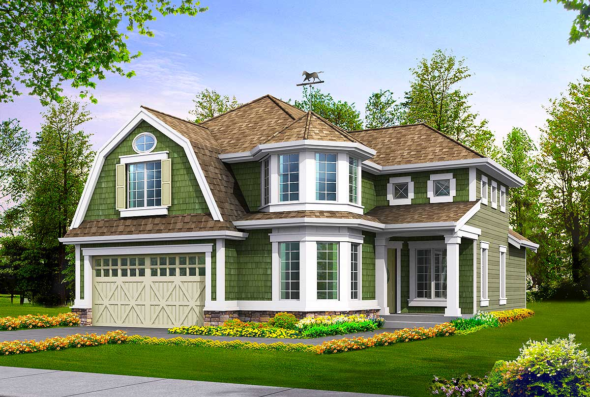 Spacious craftsman design 2303jd architectural designs for Spacious house plans