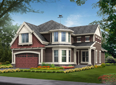 Craftsman Home Plan with Many Options - 2305JD thumb - 01