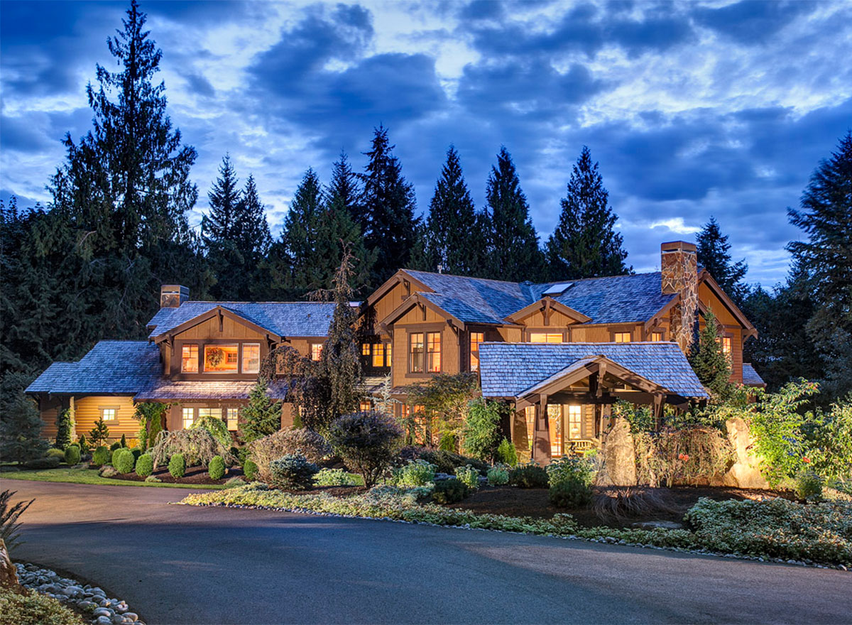 Architectural Home Plans Luxury: Luxury Craftsman Dream Home Plan - 2308JD