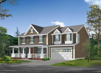 Country Charm with Luxury Floor Plan - 23085JD thumb - 01