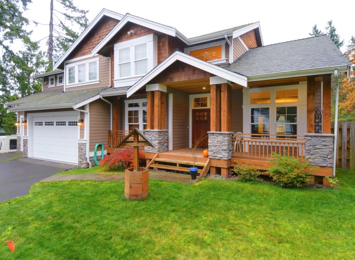 Northwest Craftsman Home Plan - 2311JD