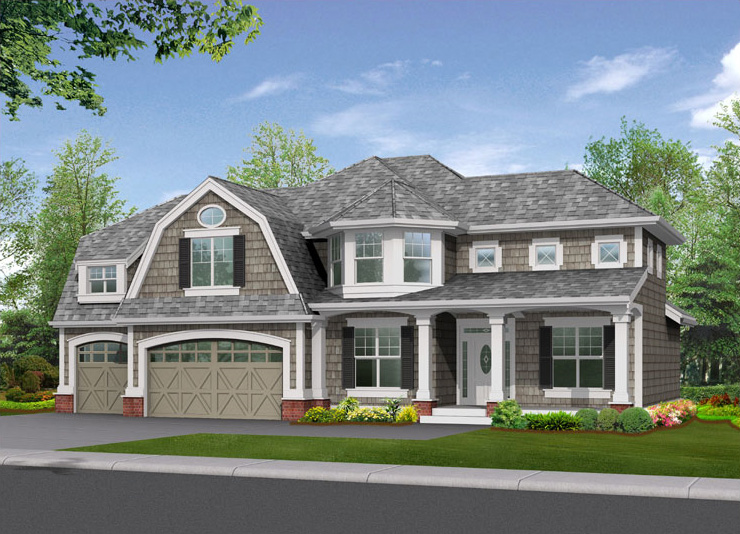 Terrific northwest craftsman home 2312jd architectural for Northwest craftsman style house plans