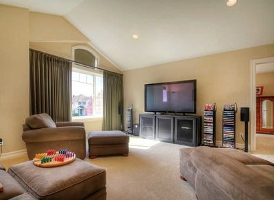 image of a living room coffered ceilings and columns define rooms 23138jd 23138