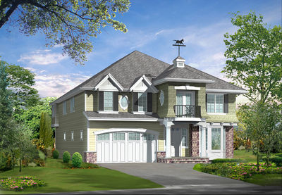 Spacious Craftsman Home Plan - 23156JD thumb - 01