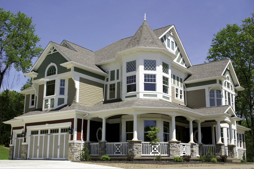 Impressive luxurious victorian house plan 23167jd 2nd floor master suite bonus room butler - Victorian style mansions collection ...