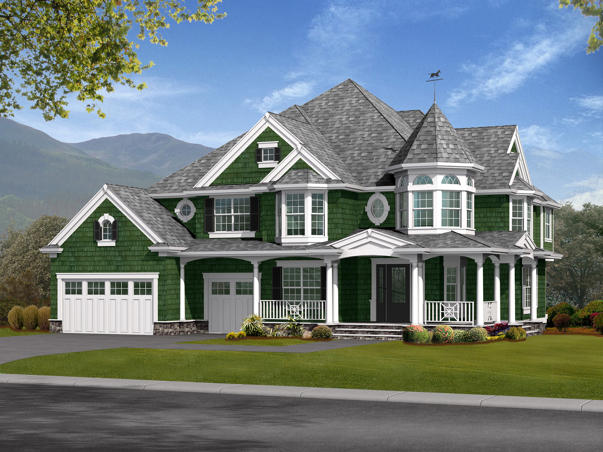 Charming Victorian with Finished Basement 23171JD