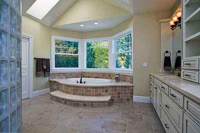 luxurious master suite with unique bathroom - 23186jd