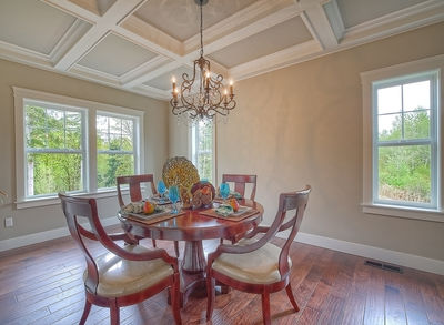 Substantial Columns and Trim Create Bold Facade - 23188JD thumb - 18