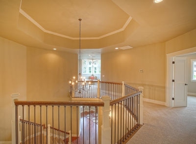 Substantial Columns and Trim Create Bold Facade - 23188JD thumb - 29
