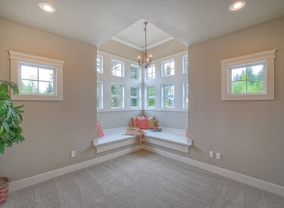 Substantial Columns and Trim Create Bold Facade - 23188JD thumb - 37