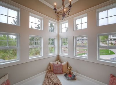 Substantial Columns and Trim Create Bold Facade - 23188JD thumb - 38