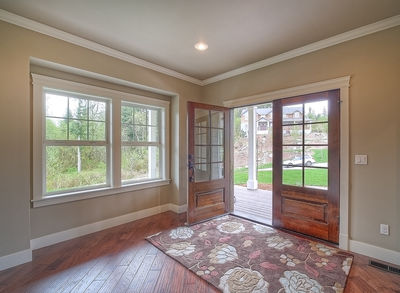 Substantial Columns and Trim Create Bold Facade - 23188JD thumb - 04