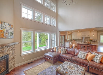 Substantial Columns and Trim Create Bold Facade - 23188JD thumb - 06