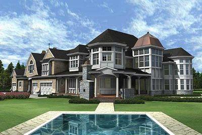 Newport Elegance Award-Winning Luxury Plan - 23219JD thumb - 23