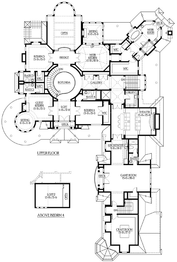 Spectacular hampton style estate 23220jd butler walk for Estate home plans designs