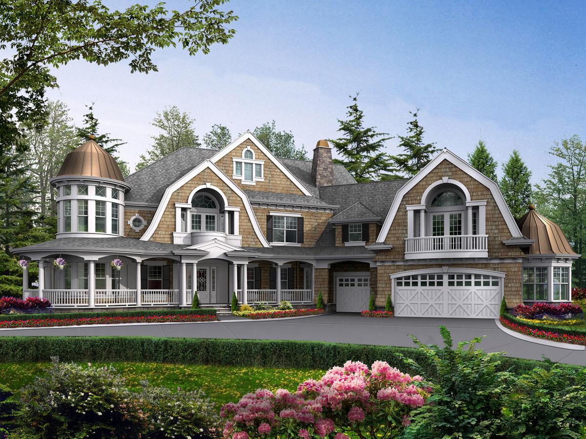 Grand estate home with lots of extras 23222jd for Large estate home plans