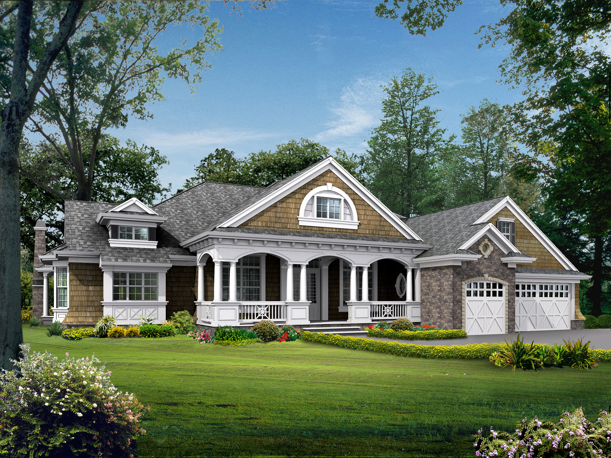 23224jd_1479211251 Rambler House Plans One Level on ranch rambler floor plans, very simple house plans, one level colonial house plans, ranch house plans, one level contemporary house plans,