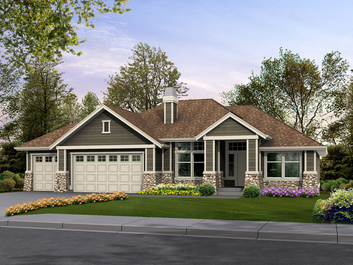 Classic rambler perfect for family living 23234jd for Rambler home designs
