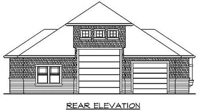 Rv Garage Plan With Living Quarters 23243jd 1st Floor
