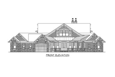 Dramatic Craftsman House Plan