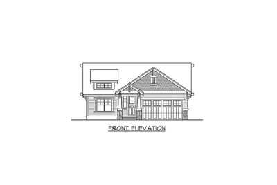 Simple Craftsman Cottage with Options - 23259JD thumb - 03