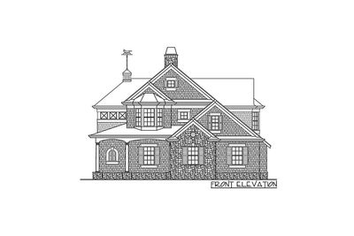 Shingle Style Guest House Plan - 23265JD thumb - 02