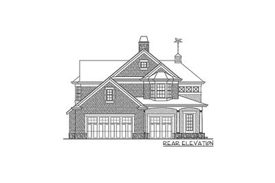 Shingle Style Guest House Plan - 23265JD thumb - 04