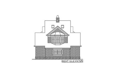 Shingle Style Guest House Plan - 23265JD thumb - 05