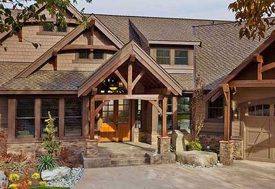 Luxury craftsman with bonus room 23283jd architectural for Craftsman house plans with bonus room