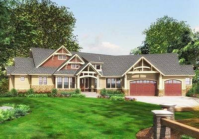 Luxury Craftsman with Front-to-Back Views - 23284JD thumb - 21