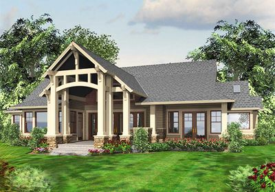 Luxury Craftsman with Front-to-Back Views - 23284JD thumb - 22